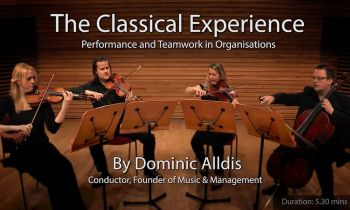 The Classical Experience with live string quartet - introduction