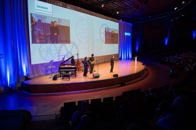 Keynote Speech about Music and Leadership for Siemens in Madrid
